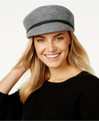 Nine West Felt Newsboy Hat $42 thestylecure.com