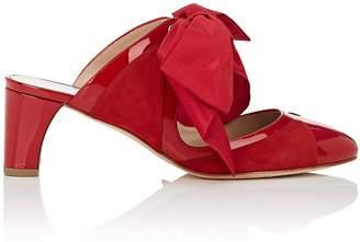 Bruno Magli Women's Daniella Suede & Patent Leather Mules