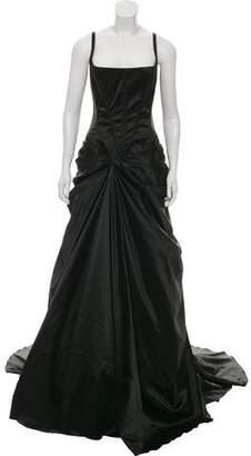 Dolce & Gabbana Draped Corset Gown