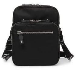 Valentino Zippered Messenger Bag