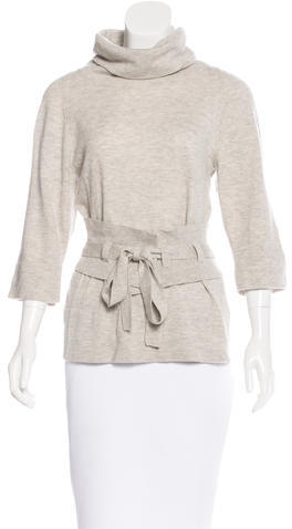 Marc By Marc JacobsMarc by Marc Jacobs Turtleneck Short Sleeve Sweater