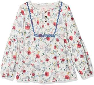 Fat Face Girl's Emily Butterfly Print Blouse,8-9 Years