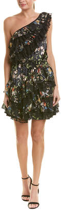 Kas Ashley Floral A-Line Dress