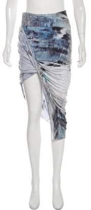 Helmut Lang Pencil Midi Skirt