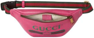 Gucci Pink Leather Clutch Bag