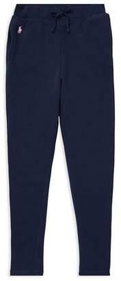 Ralph Lauren Girls' French Terry Sweatpants - Big Kid