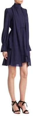 See by Chloe Asymmetrical Ruffle Dress