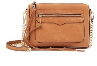 Rebecca Minkoff Avery Nubuck Leather Crossbody Bag