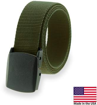 Thomas Laboratories Military Style Metal Free Ratchet Buckle Web Belt Made in USA by Bates