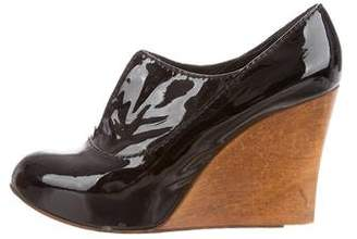 Chloé Patent Leather Oxford Wedges