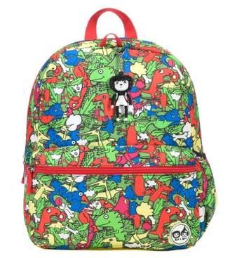 Babymel Zip & Zoe Junior Kids' Backpack - Dino Multi