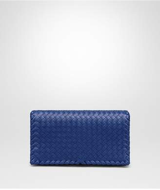 Bottega Veneta Cobalt Intrecciato Nappa Medium Clutch