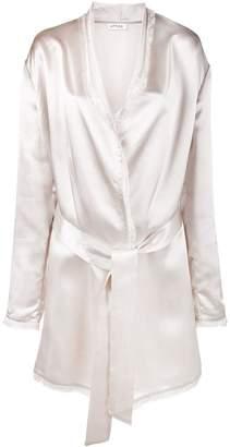 ATTICO frayed robe jacket