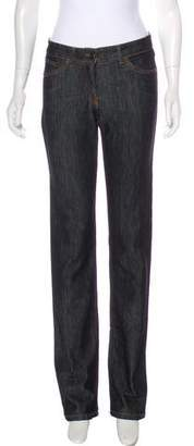 Etro Mid-Rise Straight-Leg Jeans