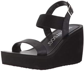 Rocket Dog Women's Tampico Smooth PU/Gore Fabric Wedge Sandal