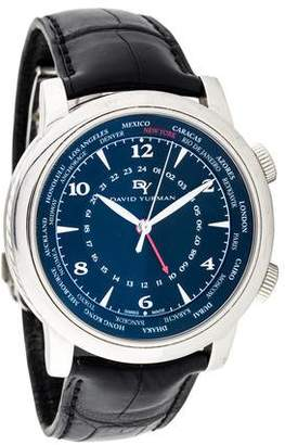 David Yurman GMT World Time Watch