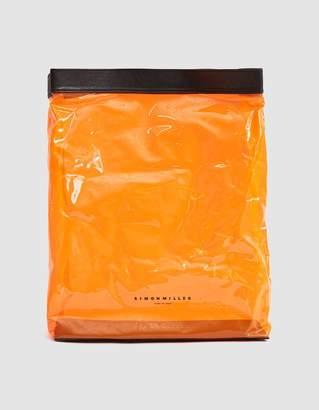Simon Miller Lunchbag in Clear Orange