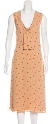 Reformation Sleeveless Midi Dress