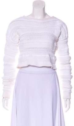 Helmut Lang Heavy Weight Crop Sweater