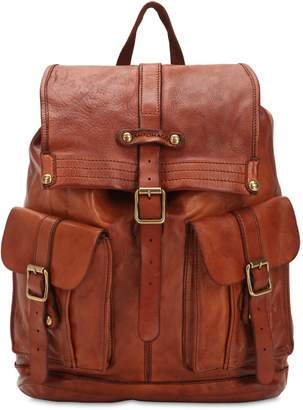 Campomaggi Studded Leather Backpack