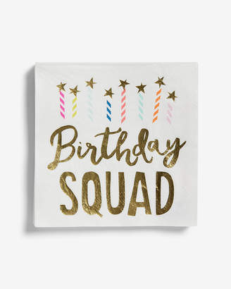 Express Slant Collections Birthday Squad Napkins