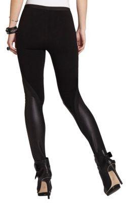 BCBGMAXAZRIA Ladyn Contrast Leggings