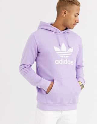 adidas adiads original trefoil hoodie