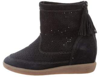 Isabel Marant Beslay Wedge Sneakers