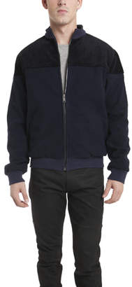 Warehouse Lucio Castro Ismo Quilted Puffer Jacket