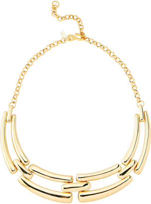 Kenneth Jay Lane Gold-Tone 4-Part Bib Necklace