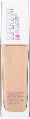 Maybelline Superstay 24H Liquid Foundation (Various Shades) - 21 Nude Beige