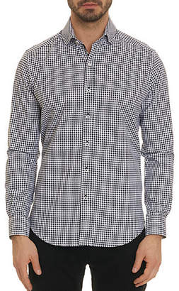 Robert Graham Emmett Long-Sleeve Gingham Top