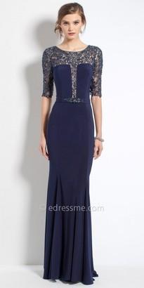 Camille La Vie Beaded Lace Evening Dress $280 thestylecure.com