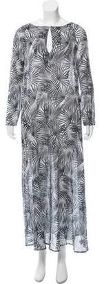 Tomas Maier Printed Maxi Dress