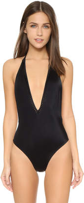 Peixoto Kai Deep V One Piece $114 thestylecure.com