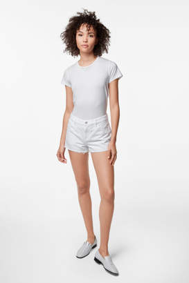 J Brand Low-Rise Short in White