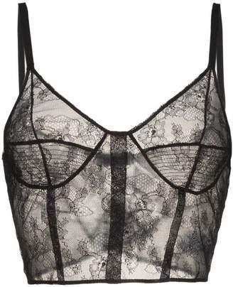 Olivier Theyskens sleeveless sheer silk lace cami top