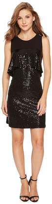 Kensie Sequin Jersey Dress KSNK9882 Women's Dress