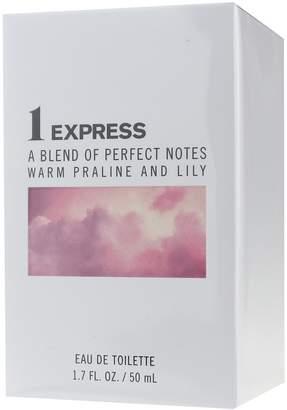Express 1 A Blend Of Perfect Notes Warm Praline And Lily Eau De Toilette 1.7oz/50ml