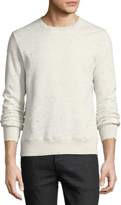 Ovadia & Sons Distressed Jersey Sweatshirt