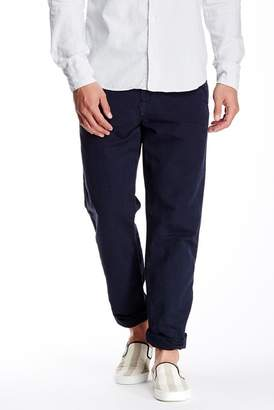 Save Khaki Linen Blend Weekend Trouser