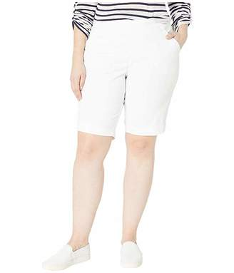 Jag Jeans Plus Size Gracie Pull-On Bermuda Shorts