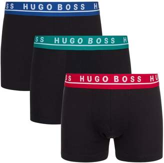 HUGO BOSS Logo Waistband Boxer Briefs (Pack of 3)
