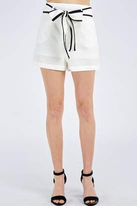 Jealous Tomato Tie Front Shorts