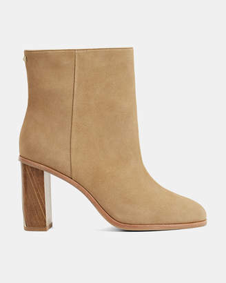 Ted Baker ORBIDA Suede heeled ankle boot