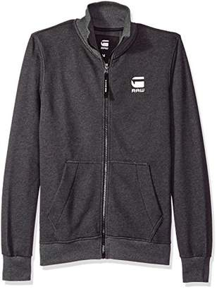 G Star Men's Strijsk Stand Collar Full Zip Sweatshirt