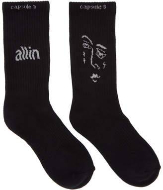 all in Black Jacknave Socks