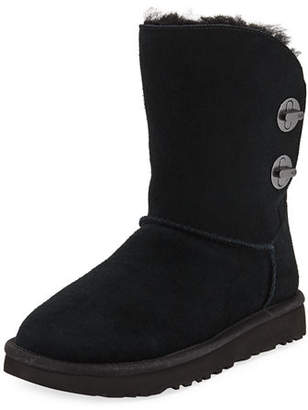 UGG Short Luxe Turn-Lock Boots