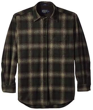 Pendleton Men's Long Sleeve Button Front Classic Lodge Shirt