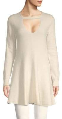 Stella McCartney Long-Sleeve Wool Top